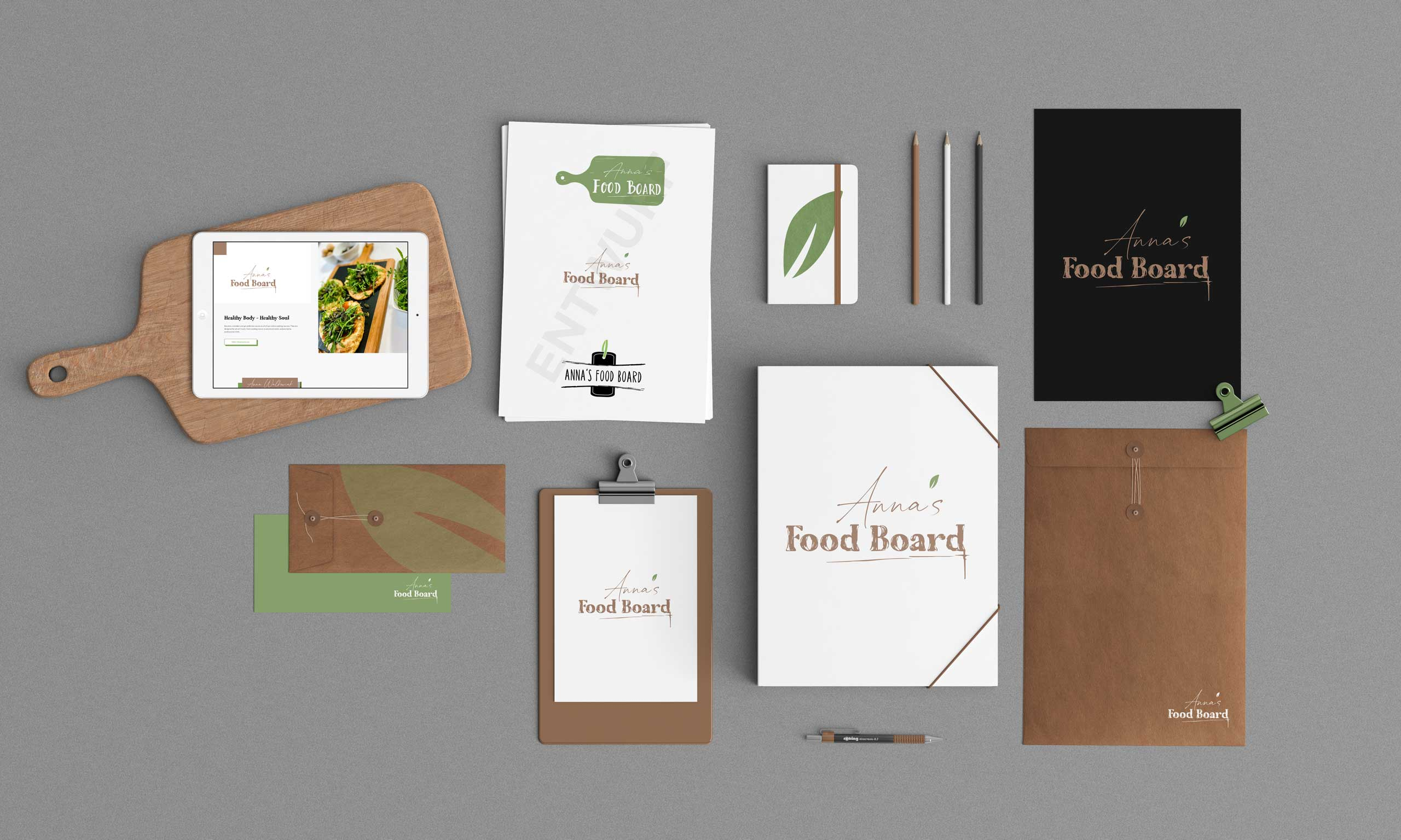 logodesign-vegan-food